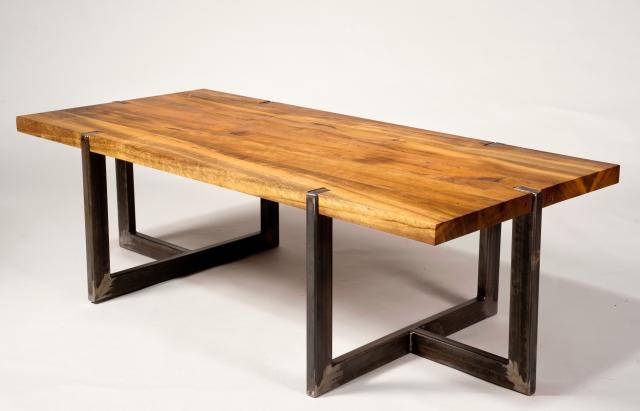 Деревянный стол в стиле лофт своими руками 82